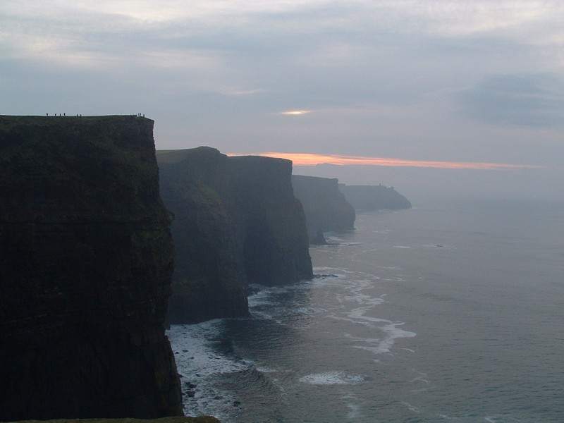 Spettacolari Cliffs of Moher