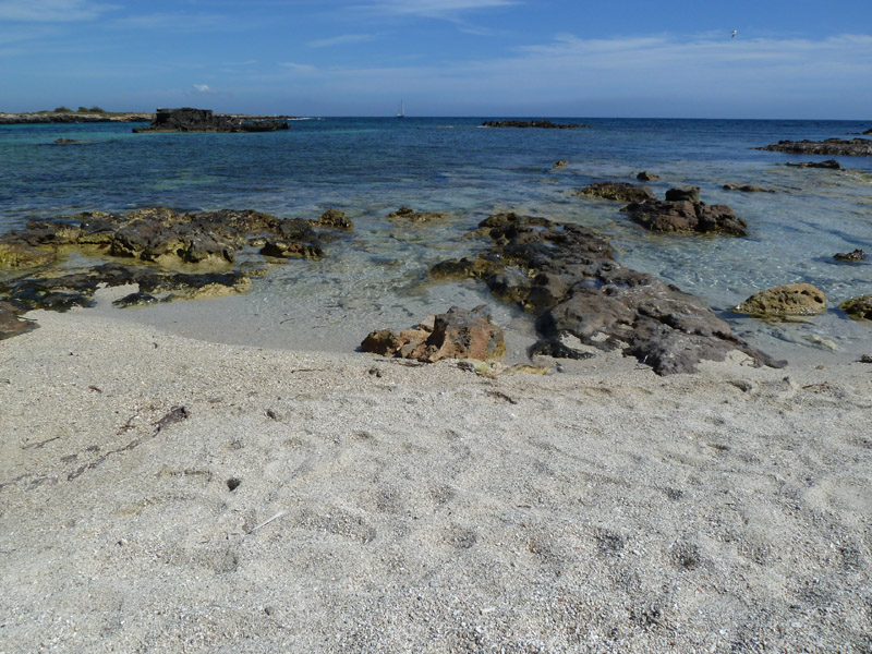 Parte ovest dell'isola