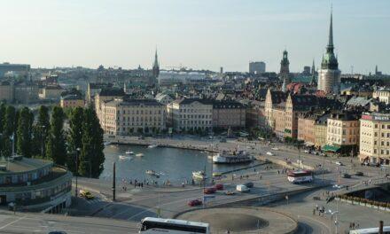 Arrivo a Stoccolma