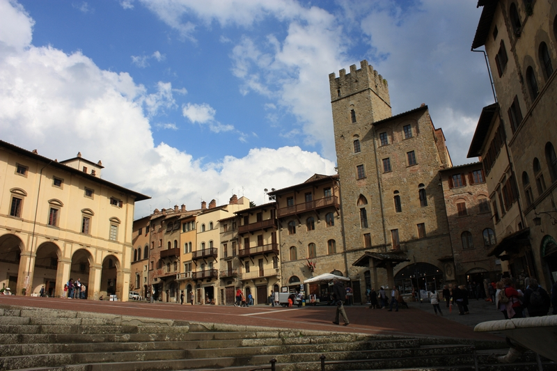 Siena e Arezzo