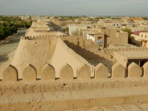 Khiva - Panorama dalla Torre di Guardia 1