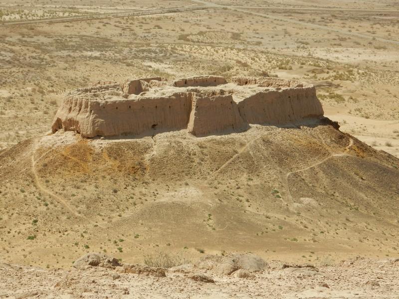 Elliq-Qala: i castelli nel deserto