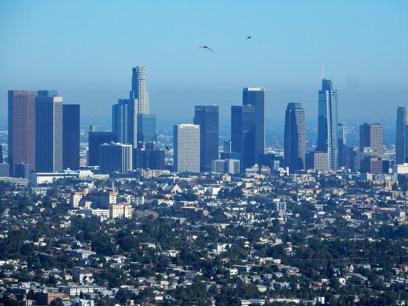 L.A. Downtown e Griffith Park