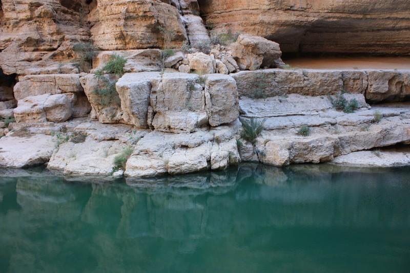 Wadi Shab, verso sud